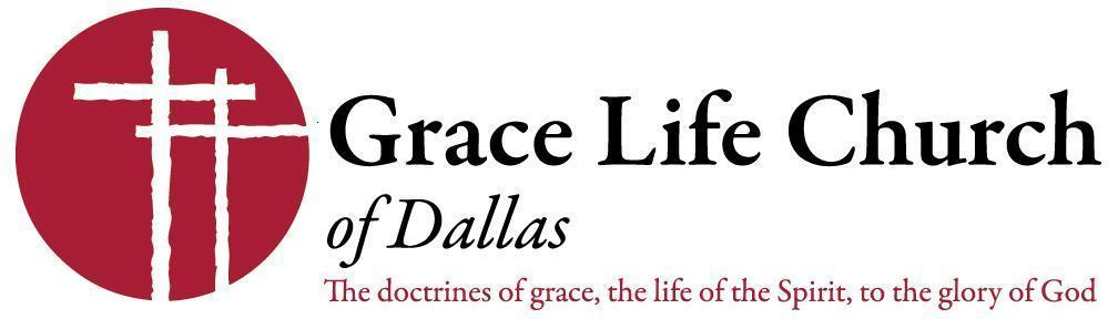 Grace Life Church of Dallas logo with tagline